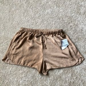 Zara Trafaluc Shorts with Stud at sides, Size S